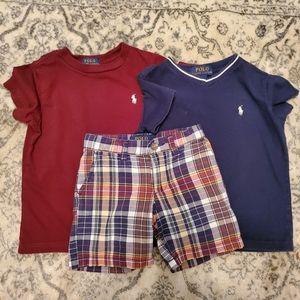 Polo Ralph Lauren 3T boy's matching set.